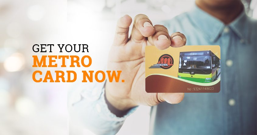 metro mass e-ticketing card